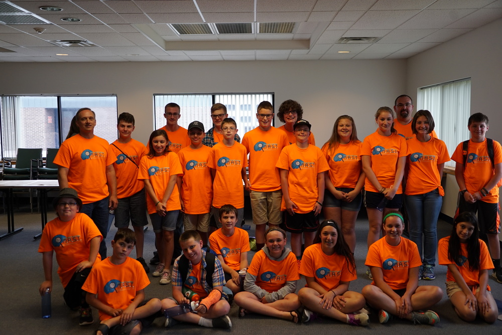 M.A.S.T. Camp Students Assist Lewis County